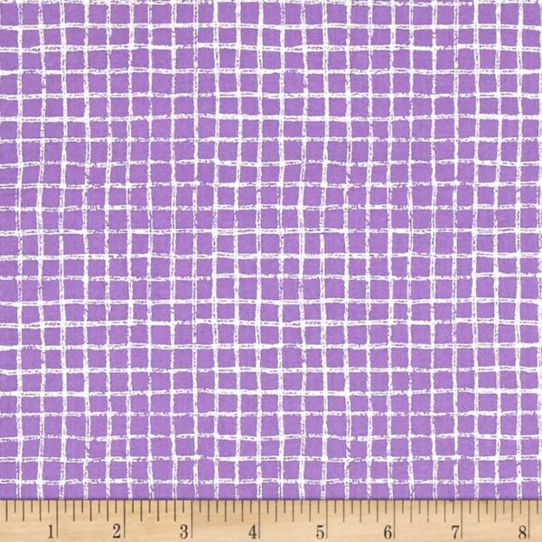 Tweet Me By Michael Miller - Purple