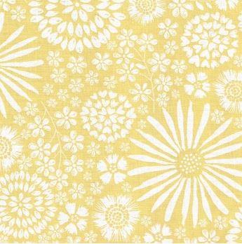 Flora Pop By Michael Miller - Yellow