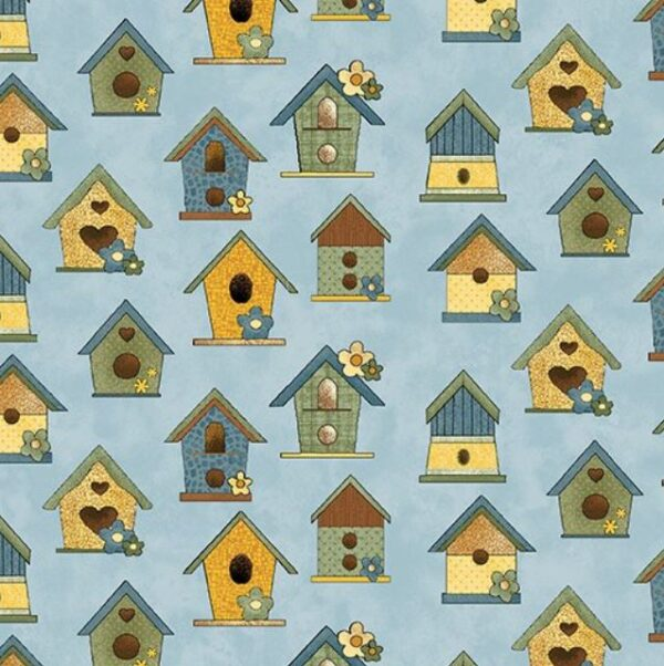 Sunshine Garden By Cheryl Haynes For Benartex - Blue