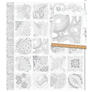 Tangle Time By Contempo Studio For Benartex - Silver
