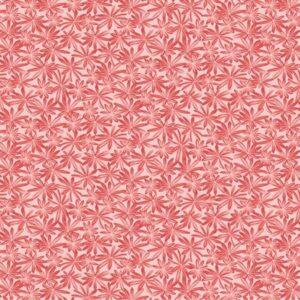 A Wildflower Meadow By Jackie Robinson For Benartex - Red