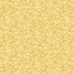 A Wildflower Meadow By Jackie Robinson For Benartex - Yellow