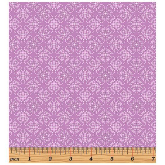 Gloaming By Contempo Studio For Benartex - Mulberry