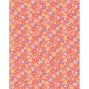 Meadow Dance By Contempo Studio For Benartex - Orange