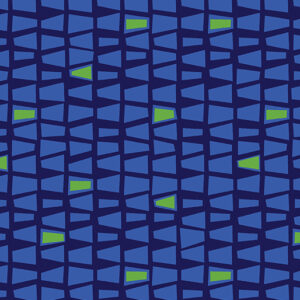 Modern Marks By Contempo Studio For Benartex - Navy/Blue