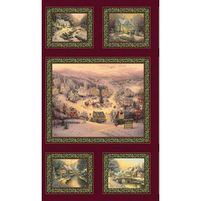 Spirit Of Christmas By Thomas Kinkade For Benartex - Multi