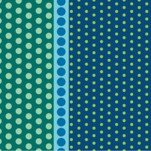 Dot Crazy By Contempo Studio For Benartex - Teal