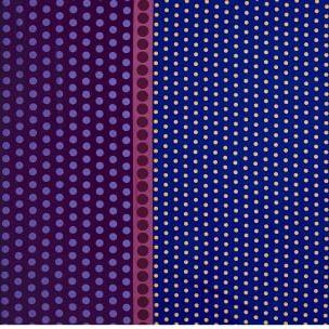Dot Crazy By Contempo Studio For Benartex - Purple