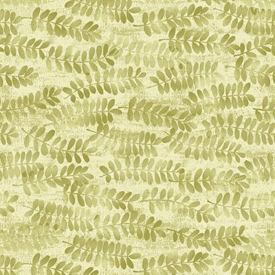 Fernwood By Jennifer Young For Benartex - Light Leaf
