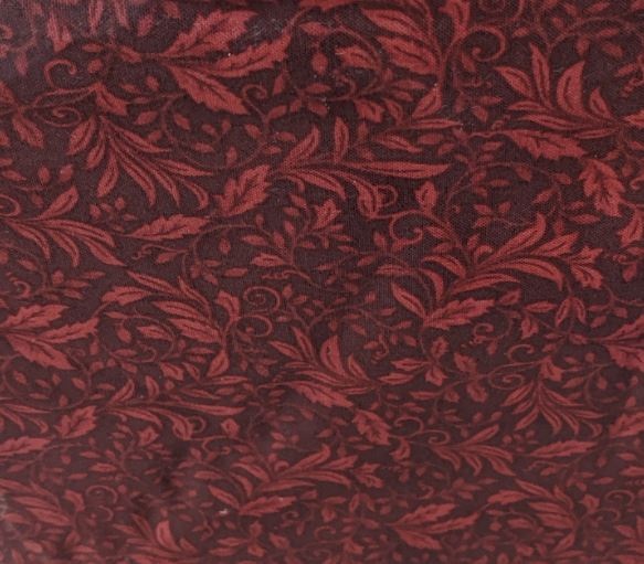 Autumn Leaves By Jackie Robinson For Benartex - Dark Red