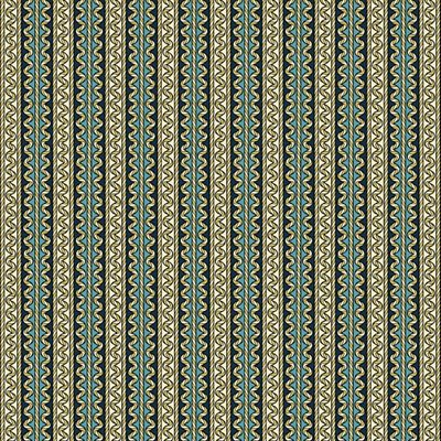 Divine Twine By Dover Hill  For Benartex - Teal