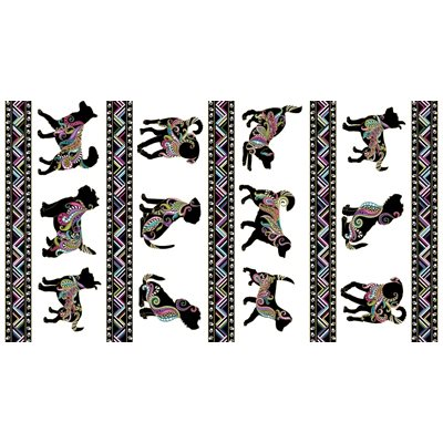 Dog On It By Ann Lauer For Benartex - White/Multi