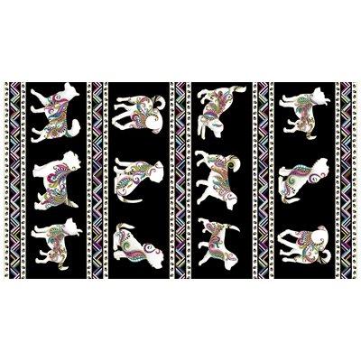 Dog On It By Ann Lauer For Benartex - Black/Multi