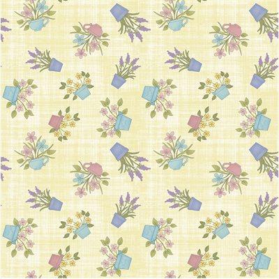 Butterfly Garden By Cheryl Haynes For Benartex - Light Lemon