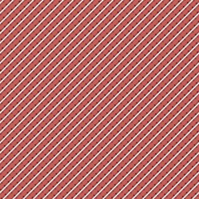 Home Grown By Nancy Halvorsen For Benartex - Red