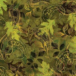 Harvest Gold By Kanvas Studio For Benartex - Green