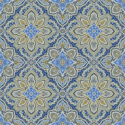 Blue Symphony By Kanvas Studio For Benartex - Cobalt