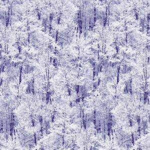 Pearl Frost By Kanvas Studio For Benartex - Slate Blue