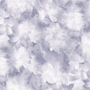 Pearl Frost By Kanvas Studio For Benartex - Silver Grey
