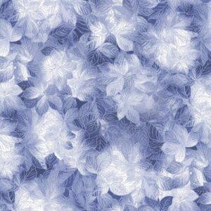 Pearl Frost By Kanvas Studio For Benartex - Dark Blue
