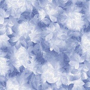 Pearl Frost By Kanvas Studio For Benartex - Cobalt