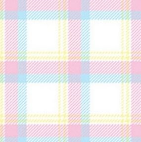 Bunny Hop Flannel By Kanvas - White Pastel