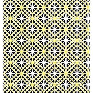 Lemon Twist By Kanvas Studio - White/Lemon