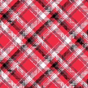 Scottie Love Flannel By Kanvas Studio - Red