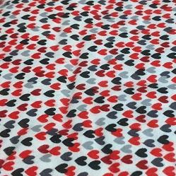 Scottie Love Flannel By Kanvas Studio - White