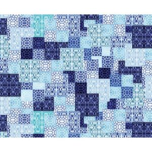 Palermo By Kanvas Studio For Benartex - Blue/Teal
