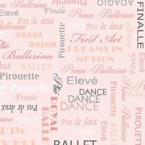 City Ballet By Kanvas For Benartex - Blush