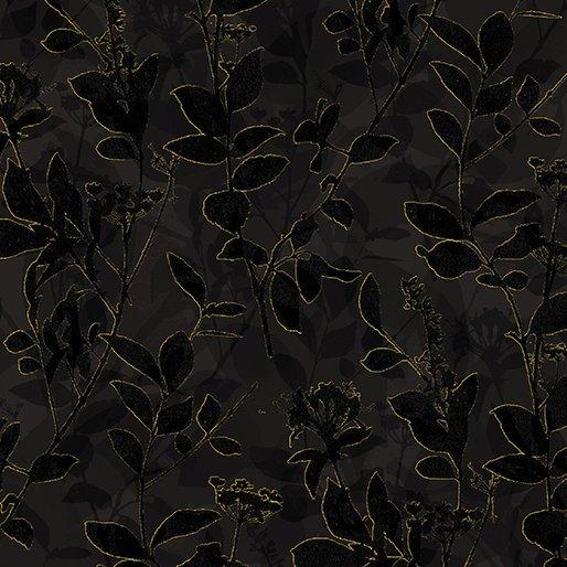 Natural Beauty By Kanvas Studio For Benartex - Black