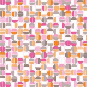 Koala Baby By Kanvas Studio For Benartex - Pink/Orange