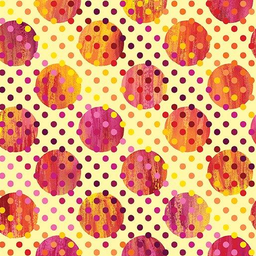 Sun Burst By Kanvas Studio For Benartex - Butter