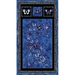 Butterfly Jewel By Kanvas Studio For Benartex - Royal