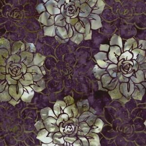 Oasis Batiks By Mckenna Ryan For Hoffman - Eggplant