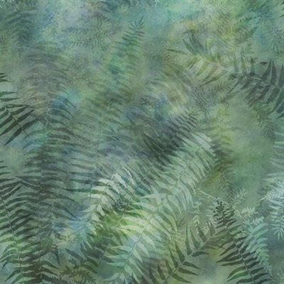 Painted Forest Digital Print By Mckenna Ryan For Hoffman - Fern