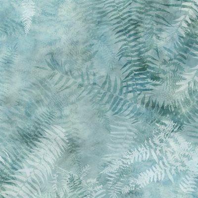 Painted Forest Digital Print By Mckenna Ryan For Hoffman - Seafoam