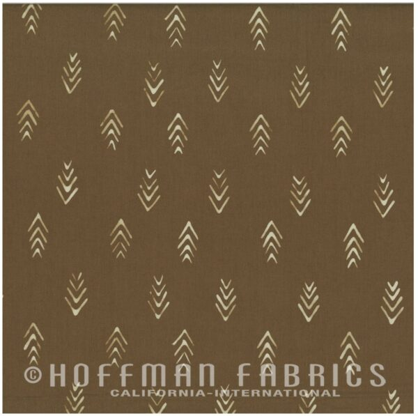 Indah Hand Dyed Batiks By Me And You For Hoffman - Coffee