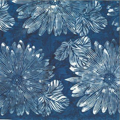 Bali Batiks By Hoffman - Navy