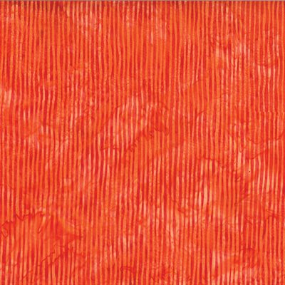 Bali Batiks By Hoffman - Tangerine