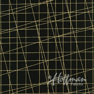 Sparkle And Fade By Hoffman - Onyx/Gold