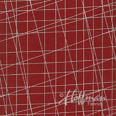Sparkle And Fade By Hoffman - Red/Silver