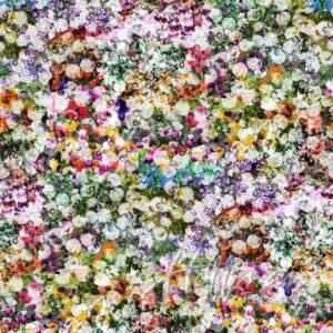 All Purpose Flower Digital Print By Hoffman - Pansy