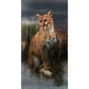 Call Of The Wild Spring Digital Print By Hoffman - Pine