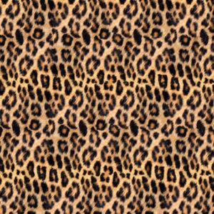 Wild Kingdom Digital Print By Hoffman - Leopard