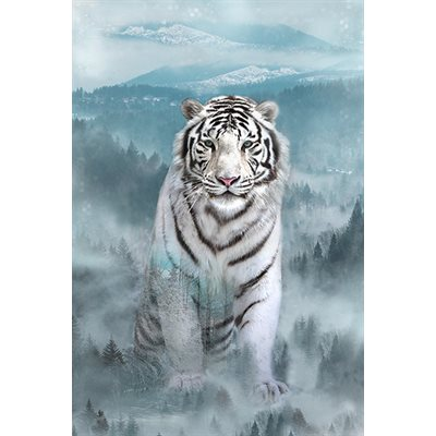 Call Of The Wild Digital Print By Hoffman - Ice Blue