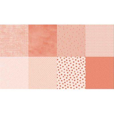Details Digital Print By Hoffman - Salmon