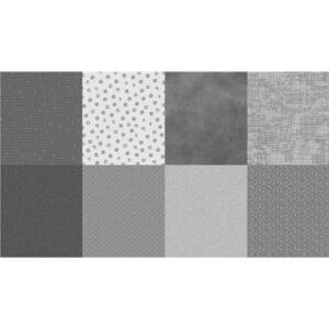 Details Digital Print By Hoffman - Warm Grey