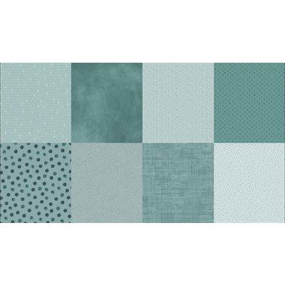 Details Digital Print By Hoffman - Seafoam